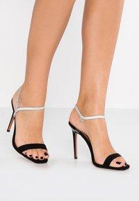 Topshop - TOE - Sandály na vysokém podpatku - black - 0