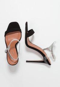 Topshop - TOE - Sandály na vysokém podpatku - black - 3