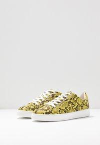 Topshop - COLA  - Sneakers - yellow - 4