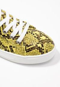 Topshop - COLA  - Sneakers - yellow - 2