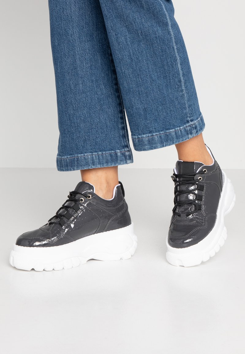 Topshop - CAIRO CHUNKY  - Trainers - grey
