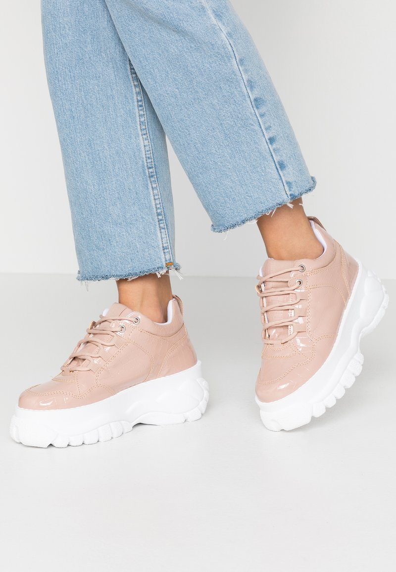 Topshop - CAIRO CHUNKY  - Sneaker low - nude
