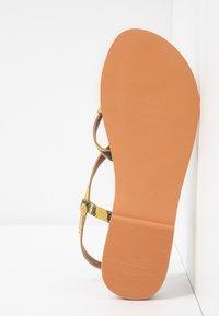 Topshop - HAZY - Sandalias de dedo - lime - 6
