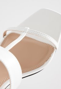Topshop - RIBBON - Sandalias - white - 2