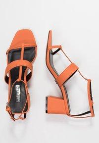 Topshop - RIBBON - Sandalias - orange - 3