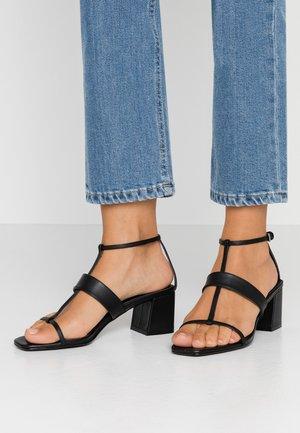 RIBBON - Sandals - black