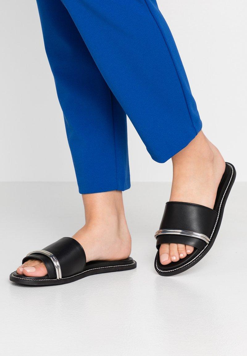 Topshop - FLASH BAR - Sandaler - black