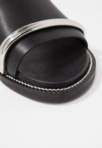 Topshop - FLASH BAR - Sandaler - black - 2