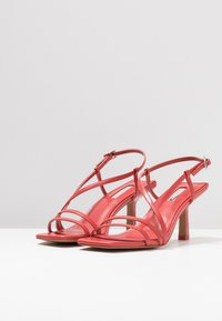 Topshop - ROME STRAPPY - Sandály - coral - 4