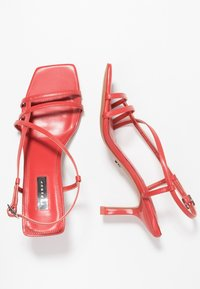 Topshop - ROME STRAPPY - Sandály - coral - 3