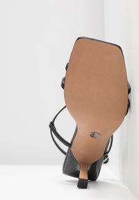 Topshop - ROME STRAPPY - Sandals - black - 6