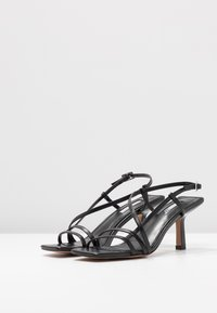 Topshop - ROME STRAPPY - Sandals - black - 4