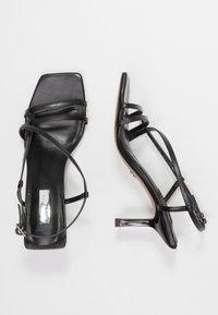 Topshop - ROME STRAPPY - Sandals - black - 3