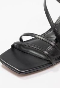 Topshop - ROME STRAPPY - Sandals - black - 2