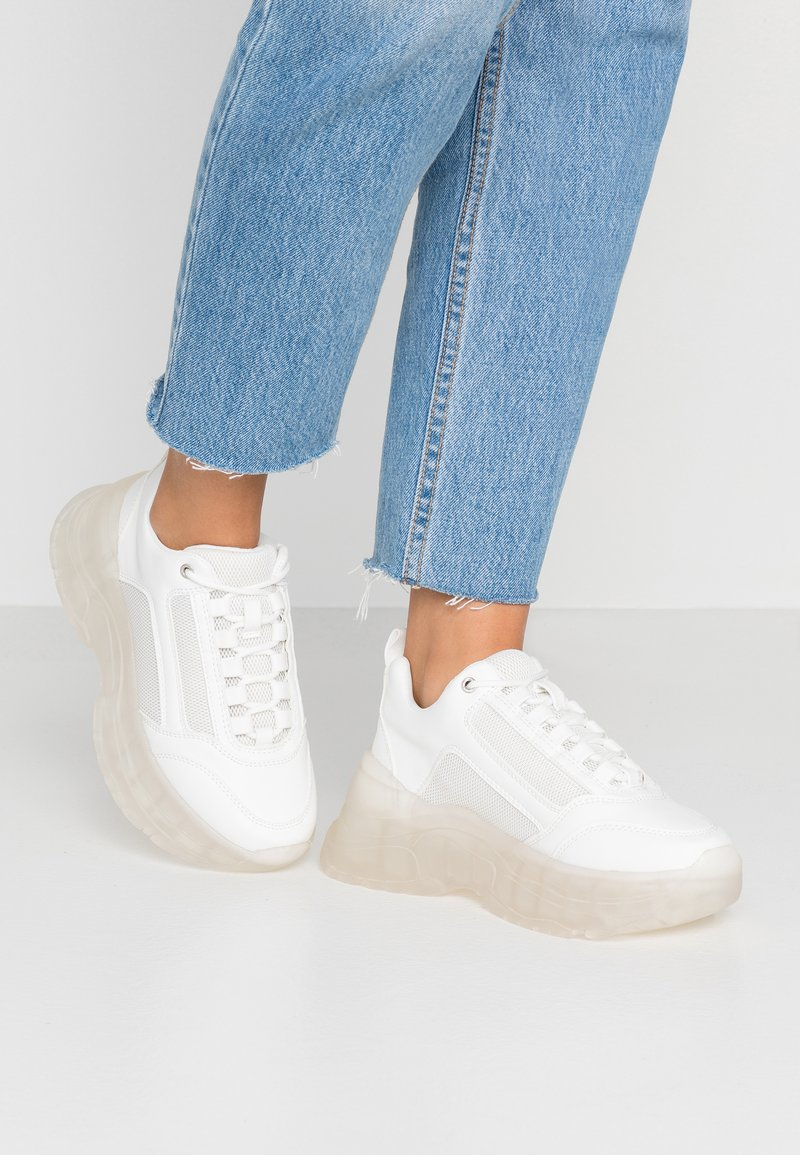 Topshop - CELINA TRAINER - Sneakers laag - white