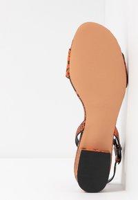 Topshop - DELTA  - Sandals - orange - 6