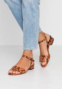 Topshop - DELTA  - Sandals - orange - 0