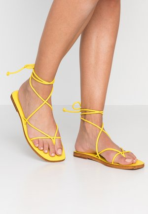 FOREST - Tongs - yellow