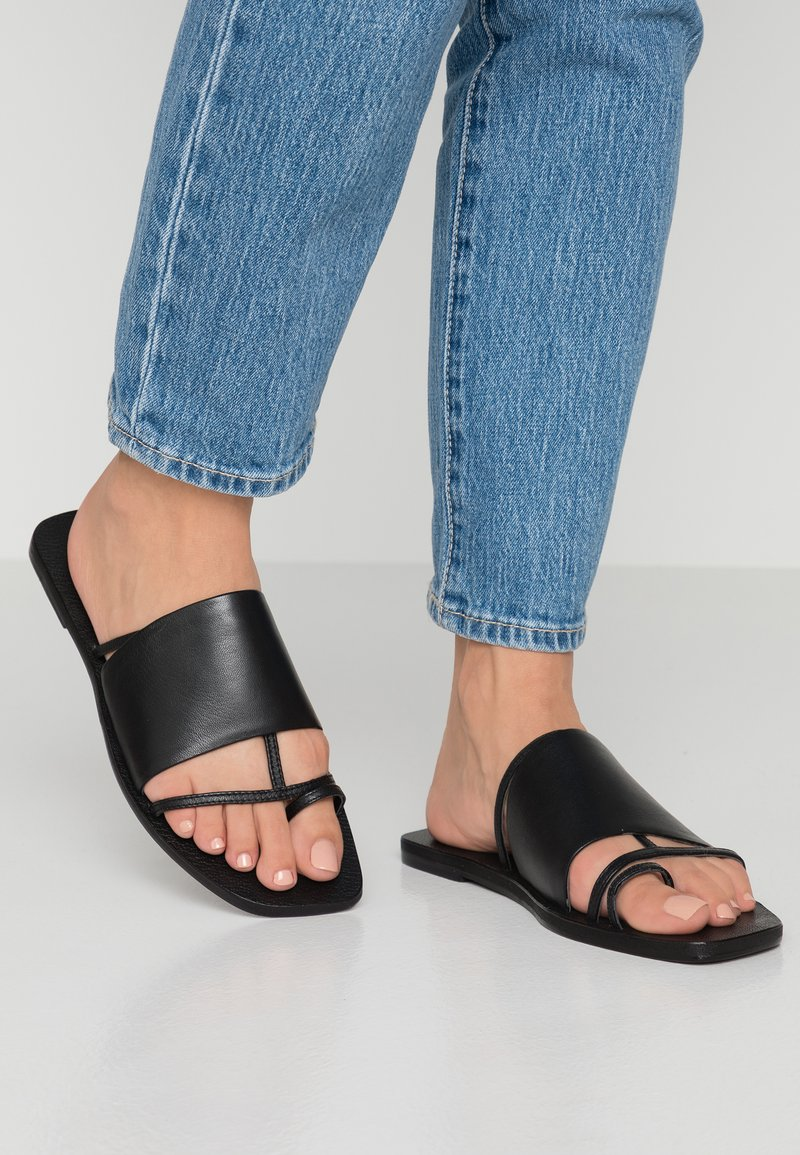 Topshop - FORTUNE - T-bar sandals - black