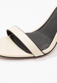 Topshop - ROLO STRAP  - Sandály na vysokém podpatku - cream - 2