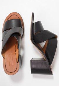 Topshop - VIVID MULE - Heeled mules - black - 3
