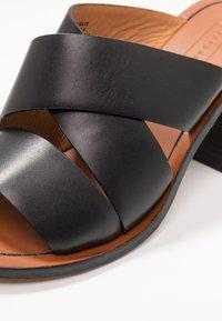 Topshop - VIVID MULE - Heeled mules - black - 2