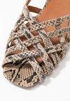 Topshop - OLIVIA STRAPPY SLING - Sandaler - multicolor