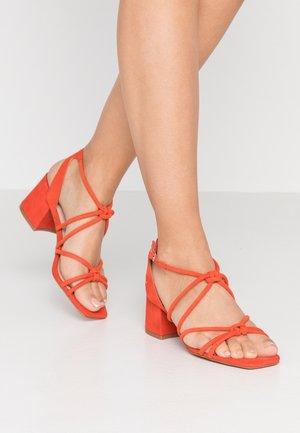 SYDNEY TUBULAR - Sandals - red