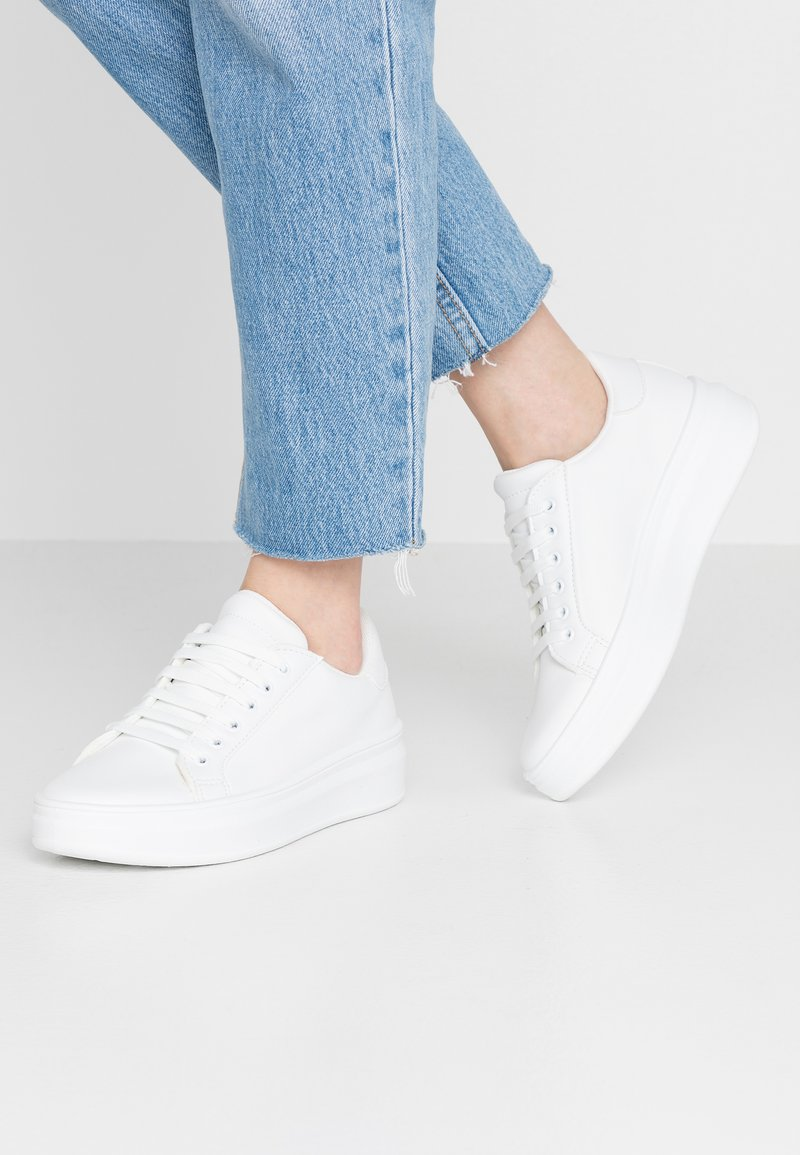 Topshop - CUBA TRAINER - Sneaker low - white