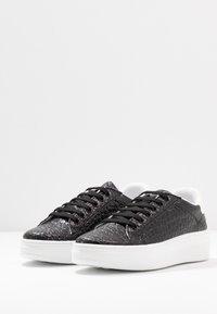 Topshop - CUBA TRAINER - Sneakers basse - black/white - 4