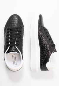 Topshop - CUBA TRAINER - Sneakers basse - black/white - 3