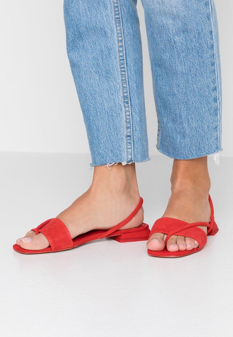 Topshop - HESTER - T-bar sandals - red