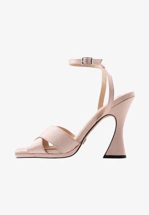 RODEO SCULPT - Sandály na vysokém podpatku - nude