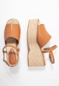 Topshop - WAKE - Sandály na vysokém podpatku - tan - 3