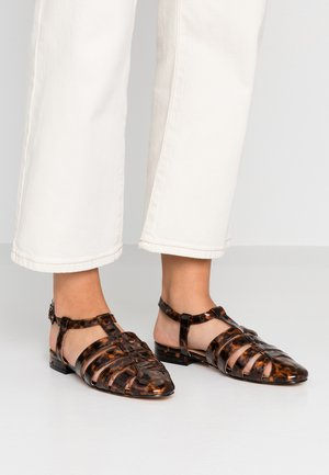 OLIVE OPEN SHOE - Sandals - tortoise