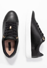 Topshop - CABO LACE UP TRAINER - Sneakers basse - black - 3