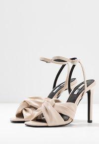 Topshop - RUMBA  - Sandály na vysokém podpatku - ivory - 4