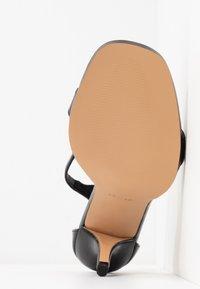 Topshop - SAGE CURVE MID - High Heel Sandalette - black - 6