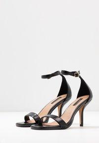 Topshop - SAGE CURVE MID - High Heel Sandalette - black - 4
