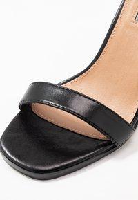 Topshop - SAGE CURVE MID - High Heel Sandalette - black - 2