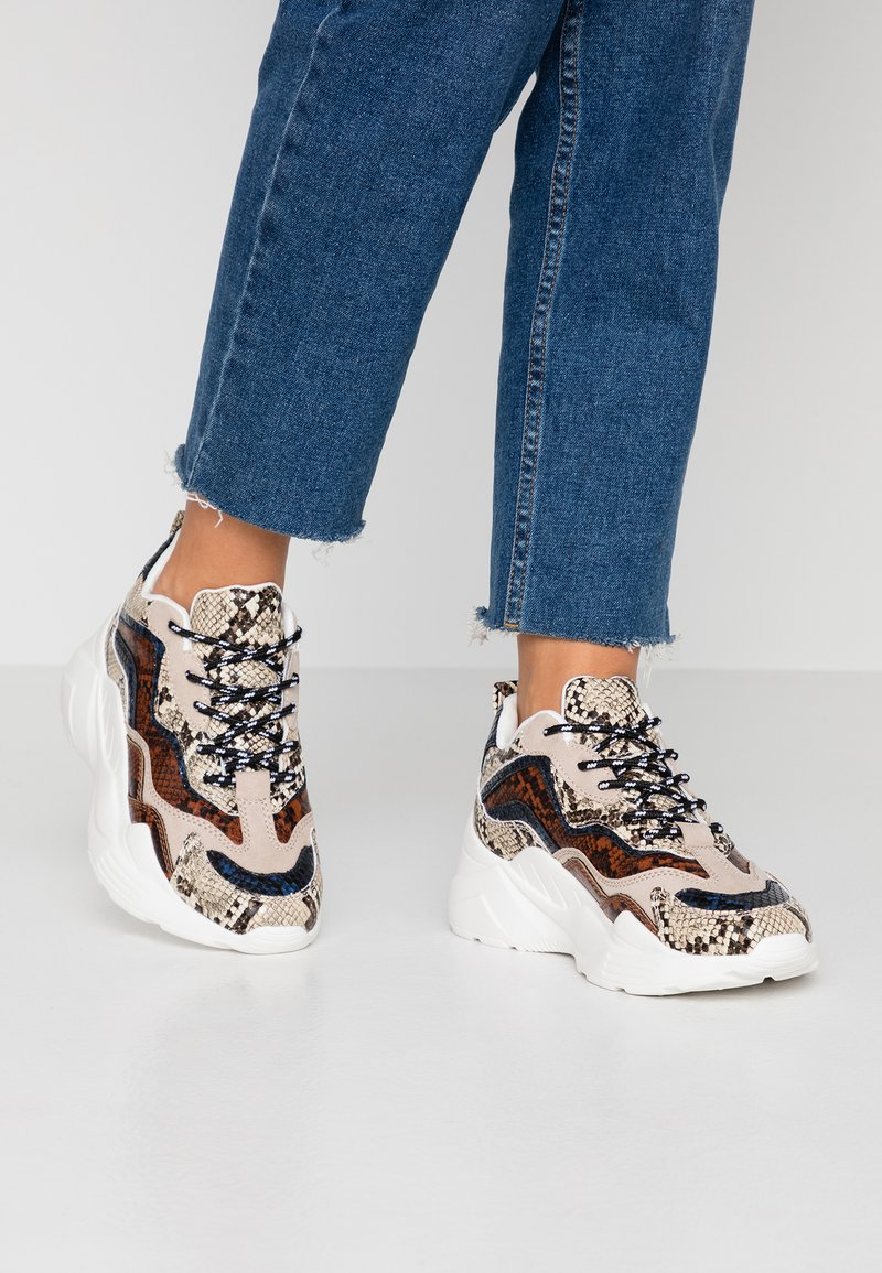 Topshop - CANCUN CHUNKY TRAINER - Sneakers - multicolor
