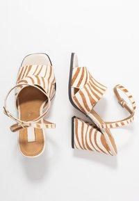 Topshop - SAFFRON CHUNK  - Sandalen met hoge hak - multicolor - 3