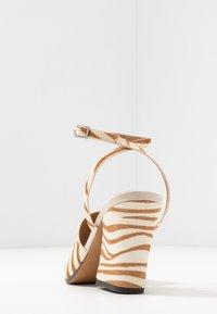 Topshop - SAFFRON CHUNK  - Sandalen met hoge hak - multicolor - 5