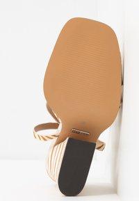 Topshop - SAFFRON CHUNK  - Sandalen met hoge hak - multicolor - 6