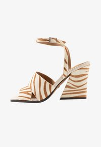 Topshop - SAFFRON CHUNK  - Sandalen met hoge hak - multicolor - 1
