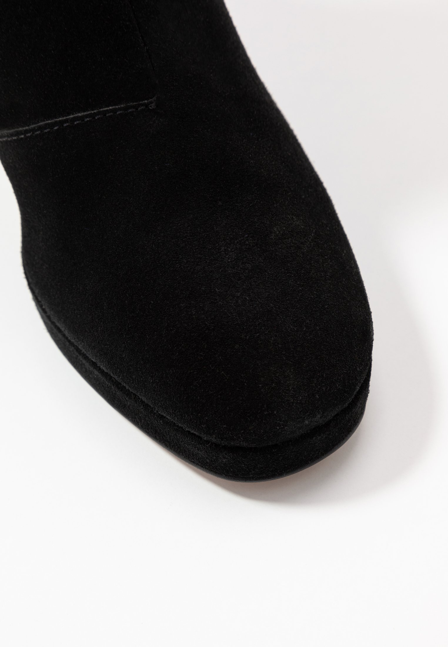 Topshop TORONTO KNEE BOOT - Bottes à talons hauts black