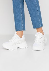 Topshop - COLORADO CHUNKY TRAINER - Zapatillas - white - 0