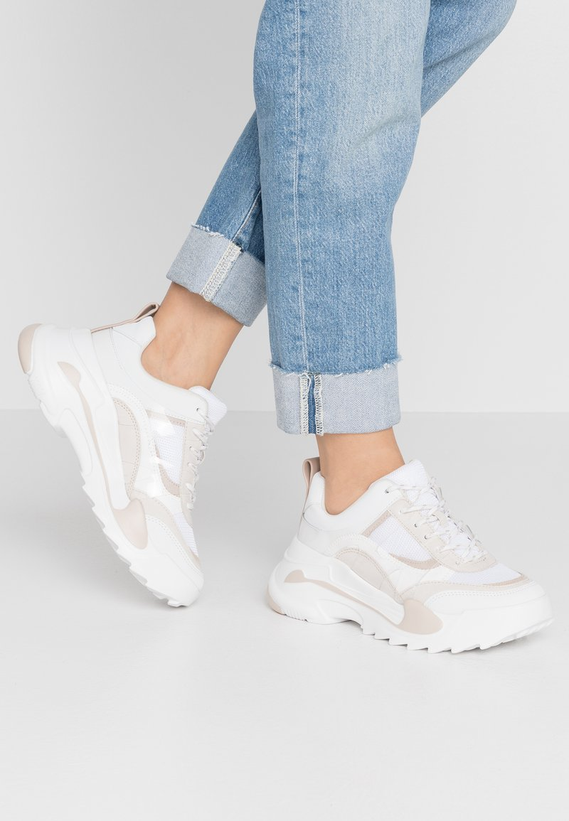 Topshop - CANDID CHUNKY TRAINER - Zapatillas - natural