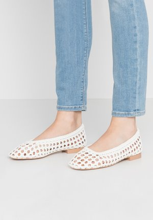 ALBA BALLET - Ballet pumps - white