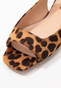Topshop - ANNIE - Sandali - brown - 2